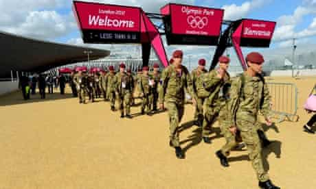 Olympic security