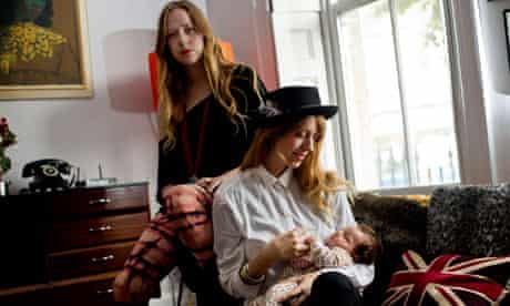 Joe Strummer's daughters