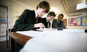 Maths teaching at the Broxbourne School, Hertfordshire
