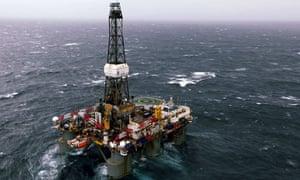 OIl rig Barryroe oil field county cork ireland