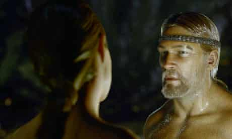 A still from the film Beowolf