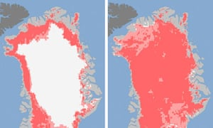 Greenland's ice sheet
