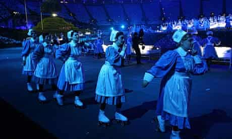 Nurses at opening ceremony