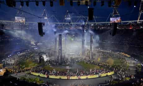 The 2012 London Olympic Games, Opening Ceremony, Britain - 27 Jul 2012