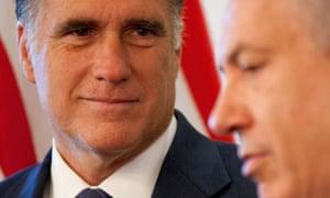 Mitt Romney meets Binyamin Netanyahu in Jerusalem