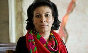 Azza Izzat Qassem Kafarna, feminist and human rights activist, Gaza