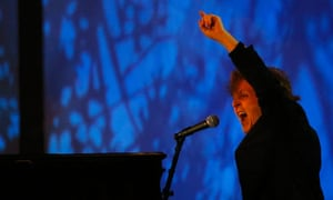 aul McCartney performs during the opening ceremony