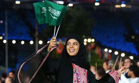 Saudi Arabian athlete Sarah Attar