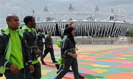 G4S security workers, Olympic Park