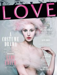 Love magazine featurning Downton Abbey actors