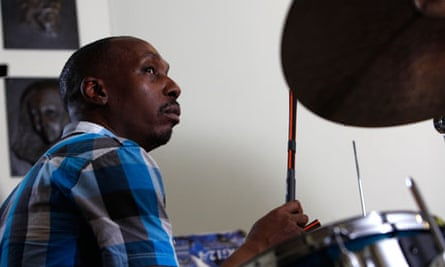Selwyn on drums.