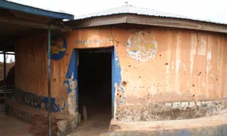Old Gbewaa palace in Yendi, Ghana, where the Andani king, Ya-Na Yakubu Andani II, was decapitated