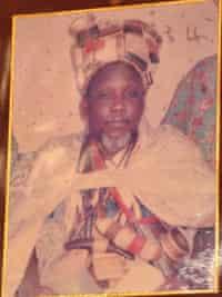 The late king, Ya-Na Yakubu Andani II