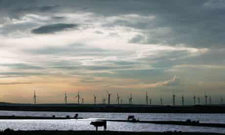 Little Cheyne Court windfarm near Camber, Kent