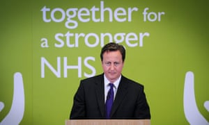 Prime Minister David Cameron Makes A Speech On Reforming The NHS