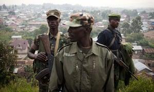 Congo rebel M23 Colonel Sultani Makenga