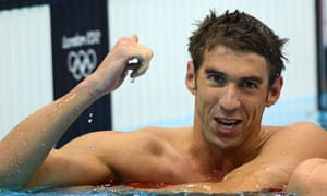 Michael Phelps: swimming helped him with his ADHD.