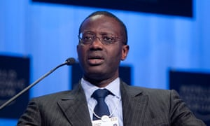 Tidjane Thiam, chief executive officer of Prudential