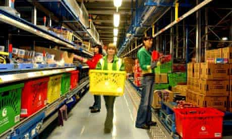 Building a companion to the Ocado warehouse at Hatfield, Hertfordshire, is stretching the finances