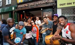 Brazilians at Made in Brasil bar