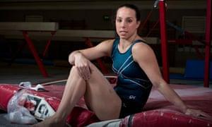 Beth Tweddle Olympic bronze medallist.