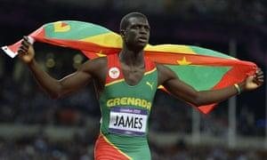 Grenada's Kirani James