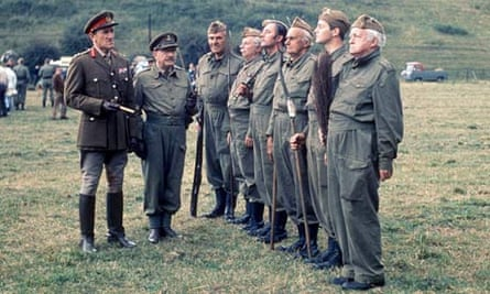 Dad's Army … a relic from a different time.
