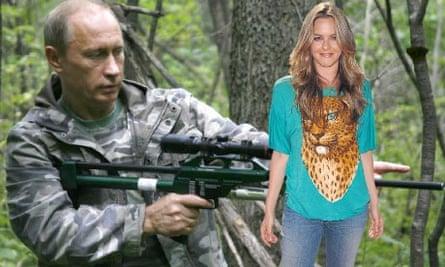 Alicia Silverstone and President Putin