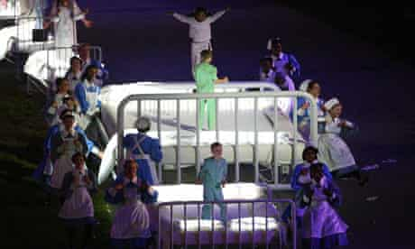 Nurses at Olympic opening ceremony