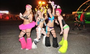 Dancers at last year's Electric Daisy Carnival.