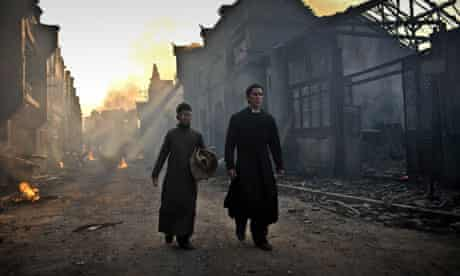 Christian Bale stars in The Flowers Of War