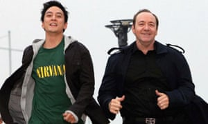 Kevin Spacey (right) in Inseparable.