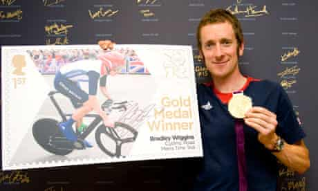 bradley wiggins cycling stamp