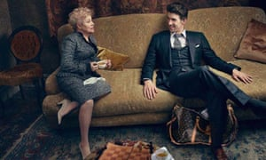 The Louis Vuitton Core Values advertising campaign featuring Michael Phelps and Larisa  Latynina