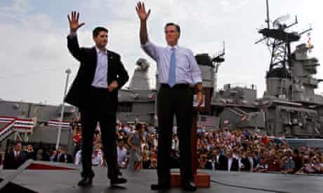 Paul Ryan and Mitt Romney, August 2012