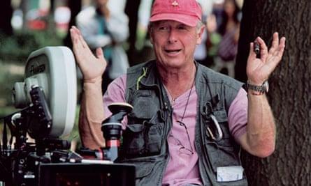 Tony Scott on the set of Man on Fire in 2003