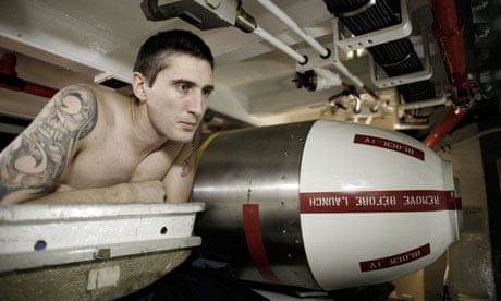 Life on board a British nuclear submarine | UK news | The Guardian