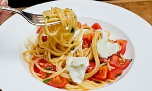 angela hartnett spaghetti with tomatoes