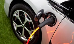 the Vauxhall Ampera recharging