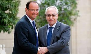 Syrian National Council Abdel Basset Sayda
