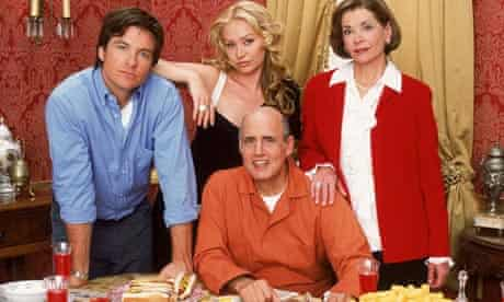 Jason Bateman as Michael Bluth with family in Arrested Development