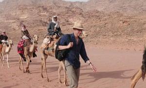 Tom Holland in Wadi Rum, Jordan