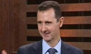 Assad interview Addounia