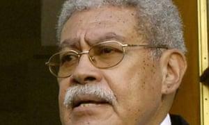 Former Fijian prime minister Laisenia Qarase
