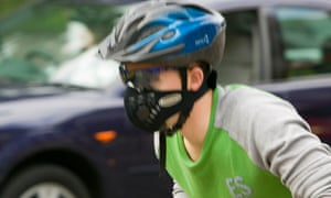 Should you wear a face mask when cycling in cities?
