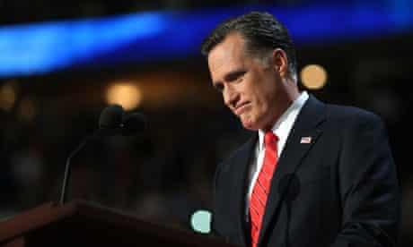 Mitt Romney accepts party nomination