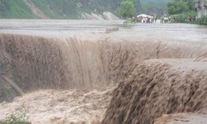 North Korean floods