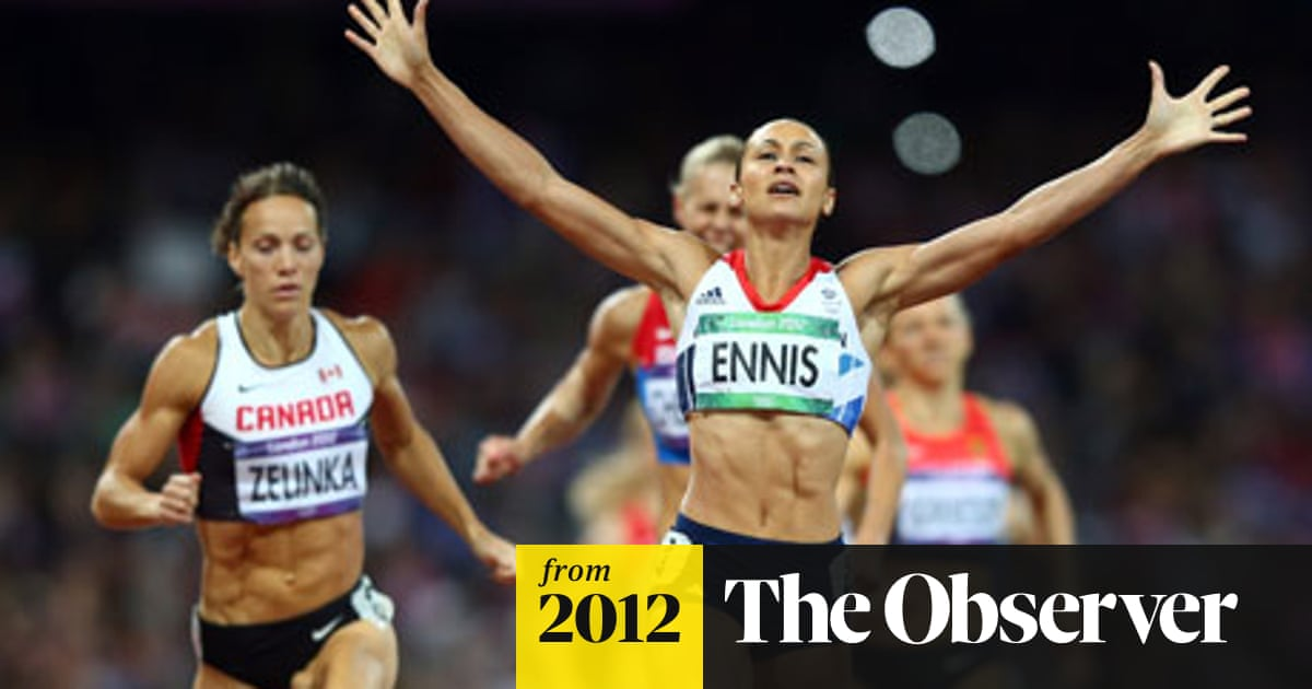 London 2012: Jessica Ennis strikes gold with a triumph to