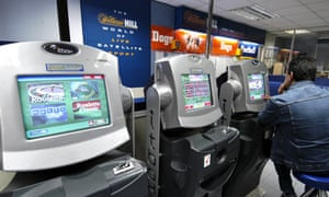 Bookies with high-stakes fixed-odds betting terminals