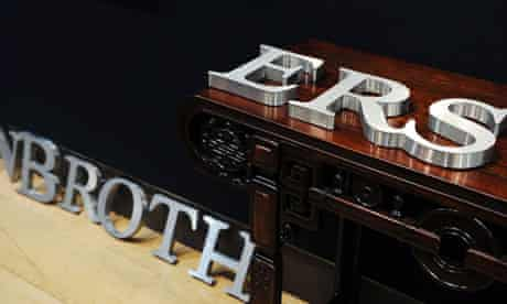 """A lot from the Lehman Brothers: Artwork and Ephemera"""" sale at Christie's of London in September 2010"""